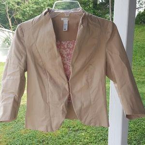 Old navy tan blazer